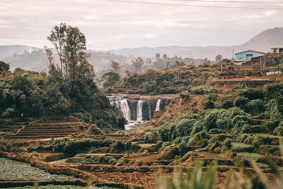 Wasserfall im schoenen Madagaskar