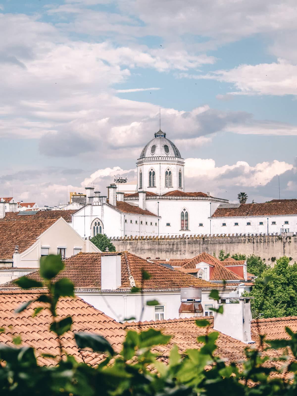 Aussicht Kathedrala Coimbra