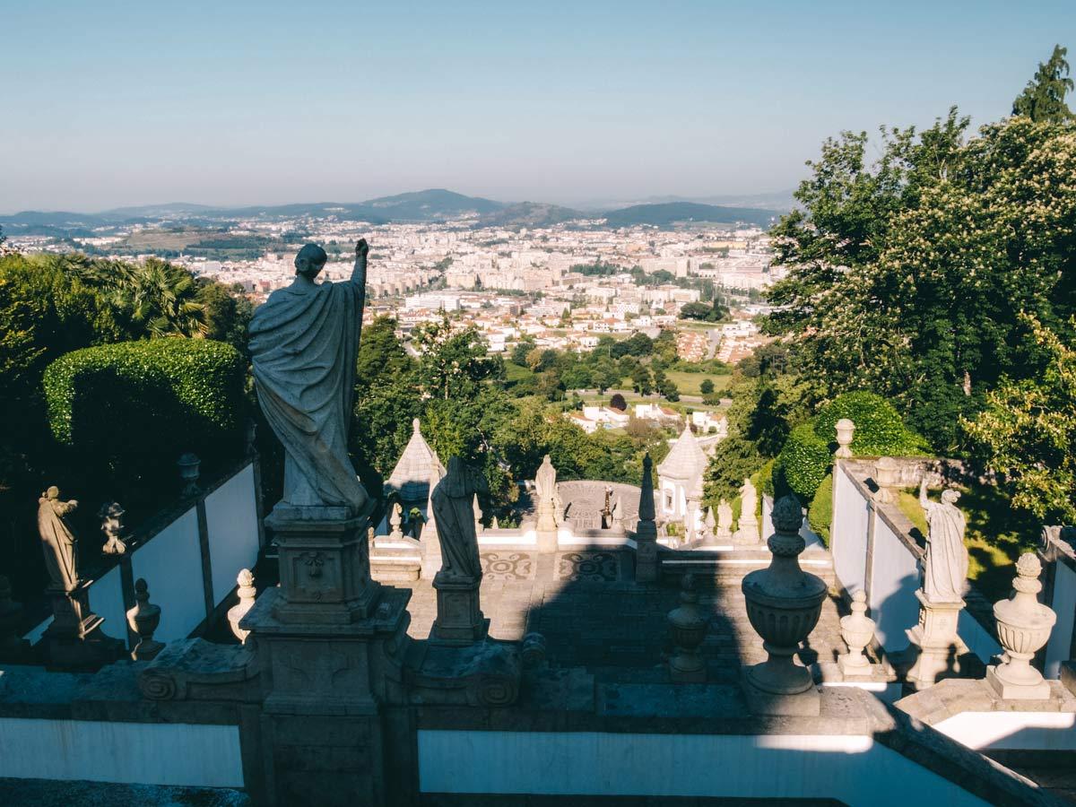 Bom Jesus do Monte Aussicht