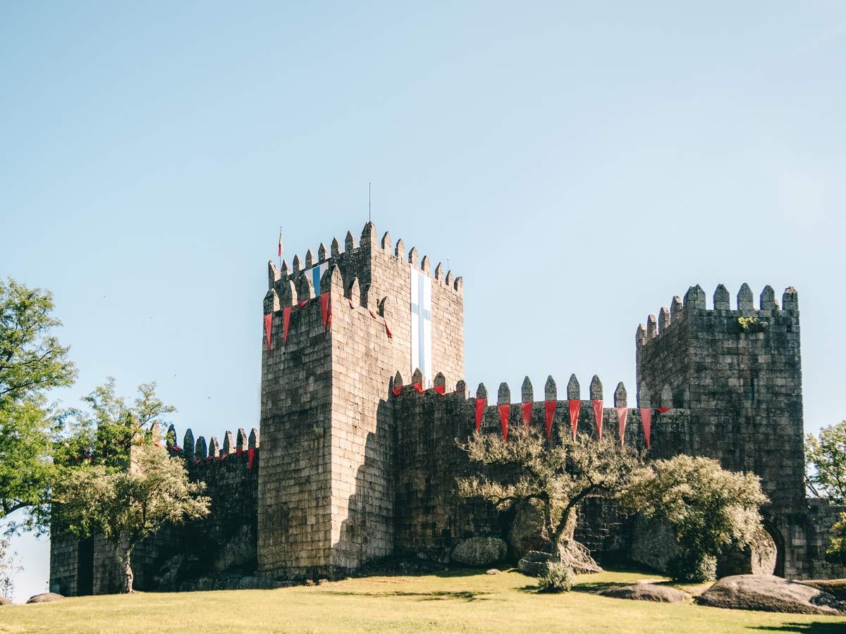 Castelo in Guimaraaes