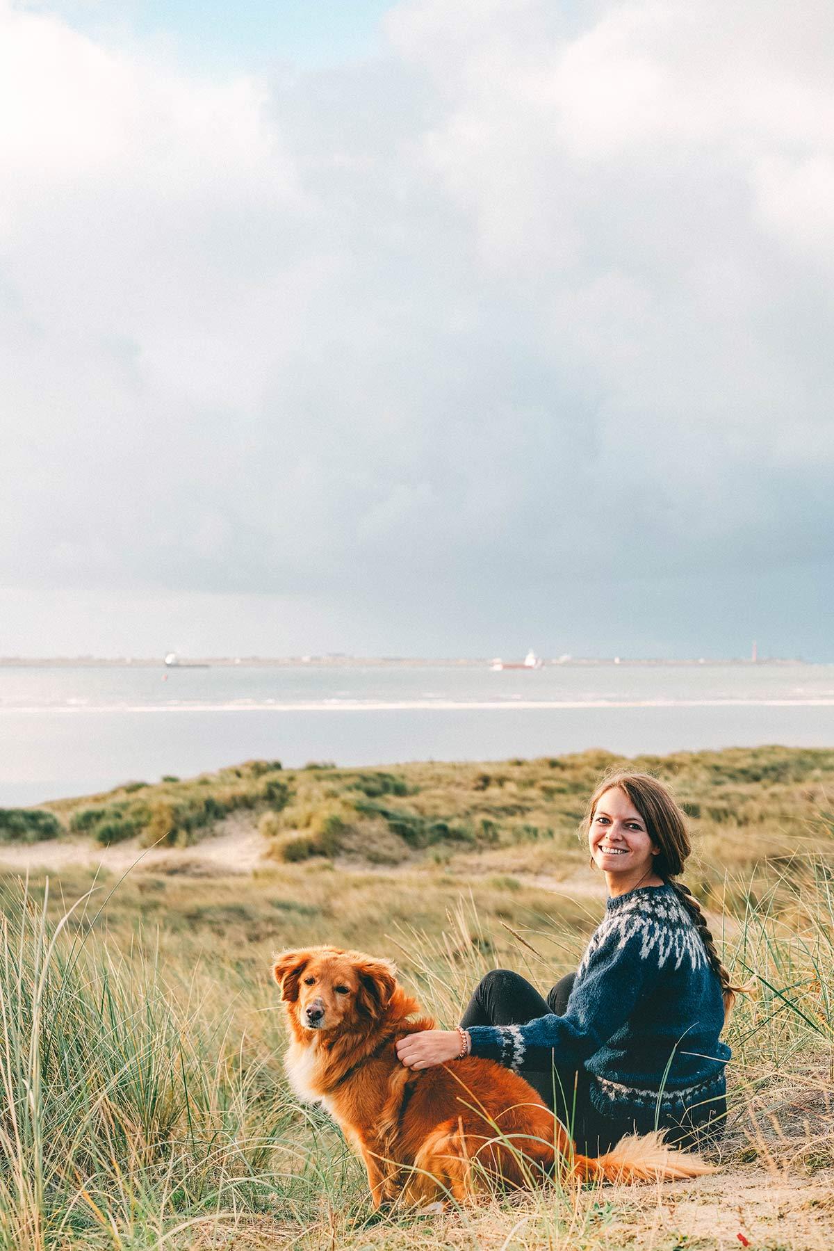 Christine Neder Hund Texel