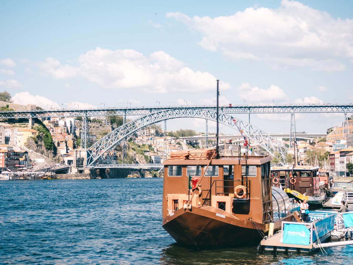 Fluss in Porto