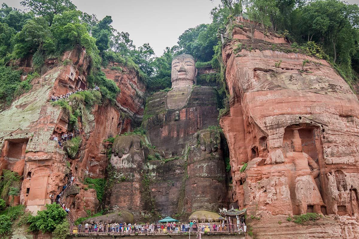 grosser buddha von leshan