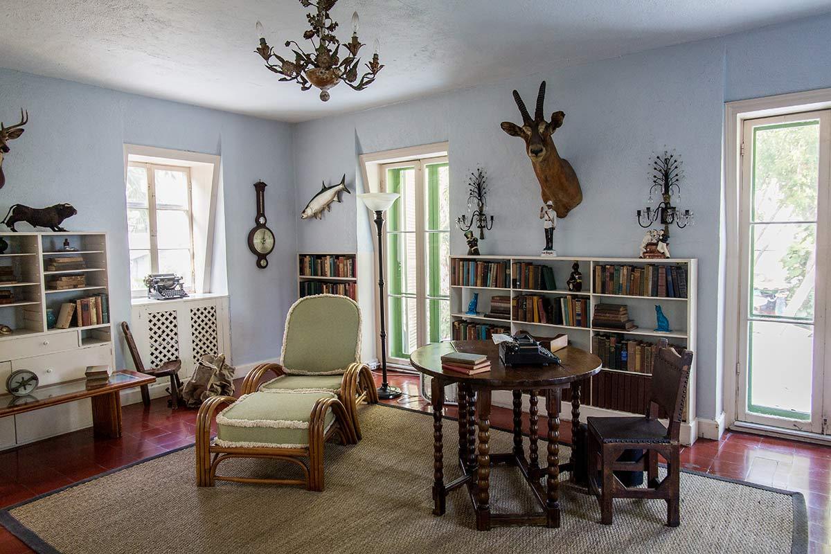 Hemingway Haus Key West Schreibzimmer