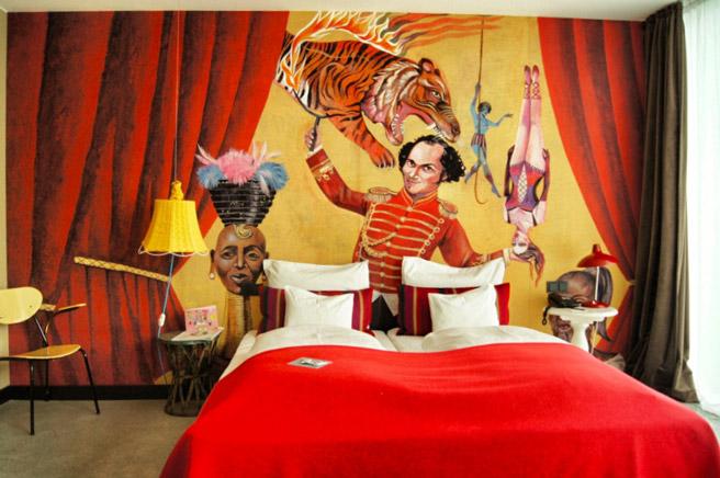 Zirkus-Hotel in Wien