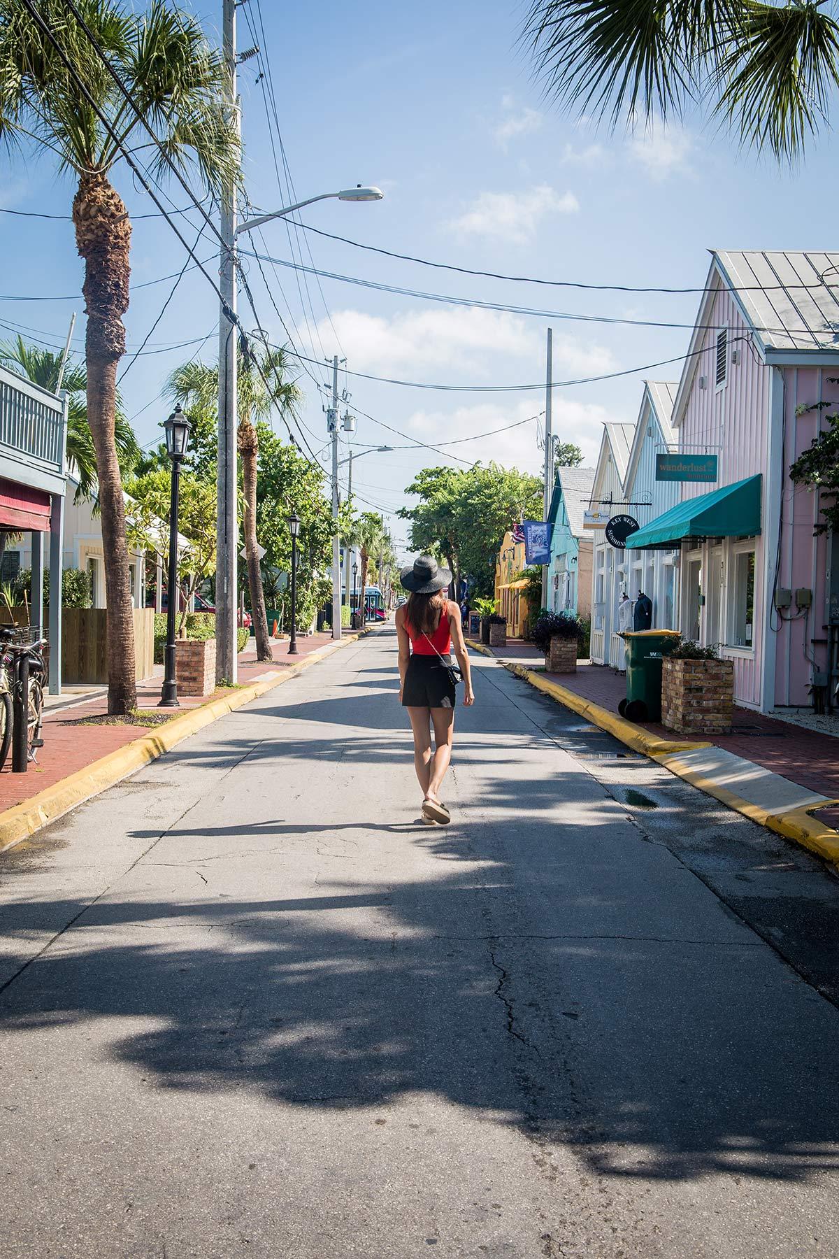 Key West Strasse