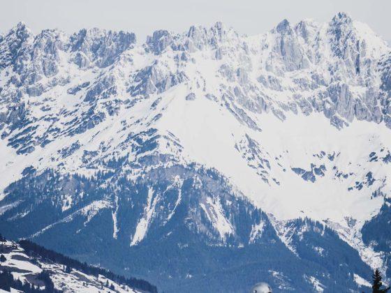 KitzSki Gebiet Kitzbuehel Abfahrt