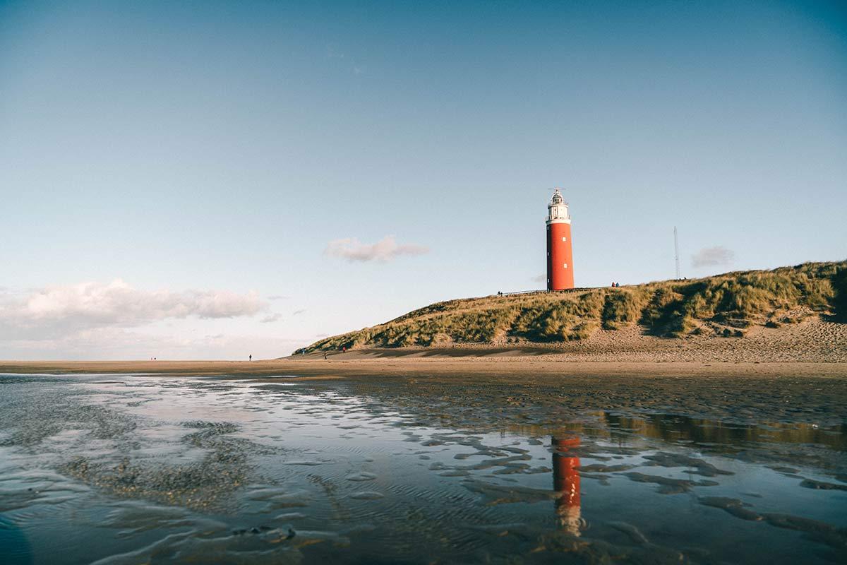 Leuchtturm Texel Fotomotiv