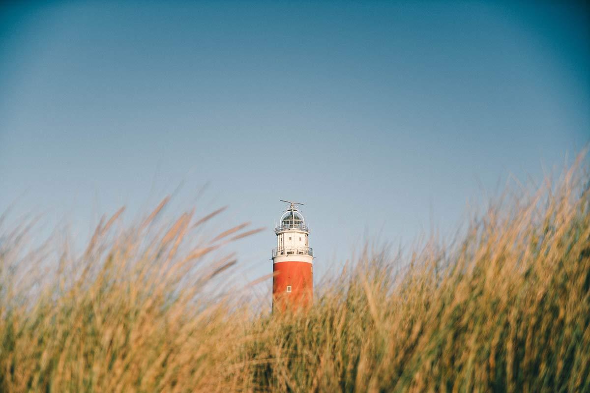 Leuchtturm Texel Insel