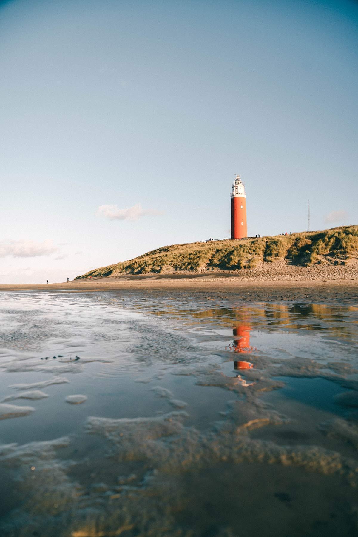 Leuchtturm Texel Niederlande