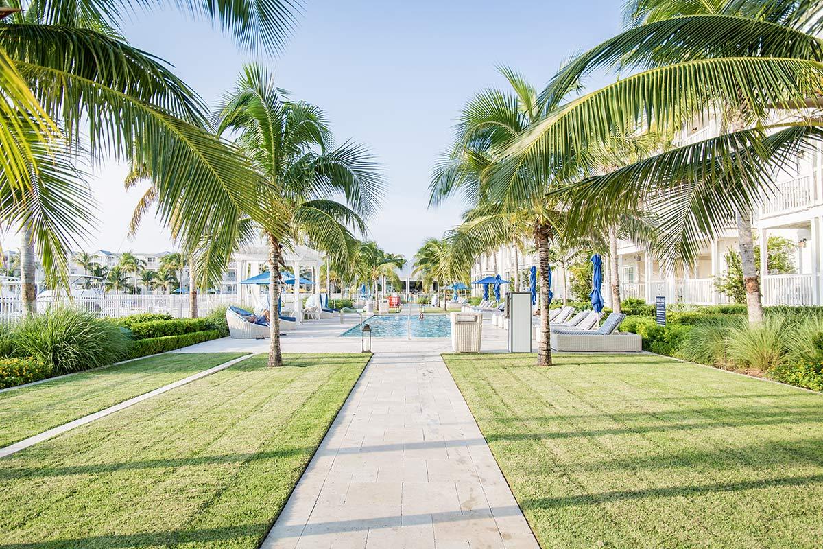 Oceansedge Hotel Aussenbereich