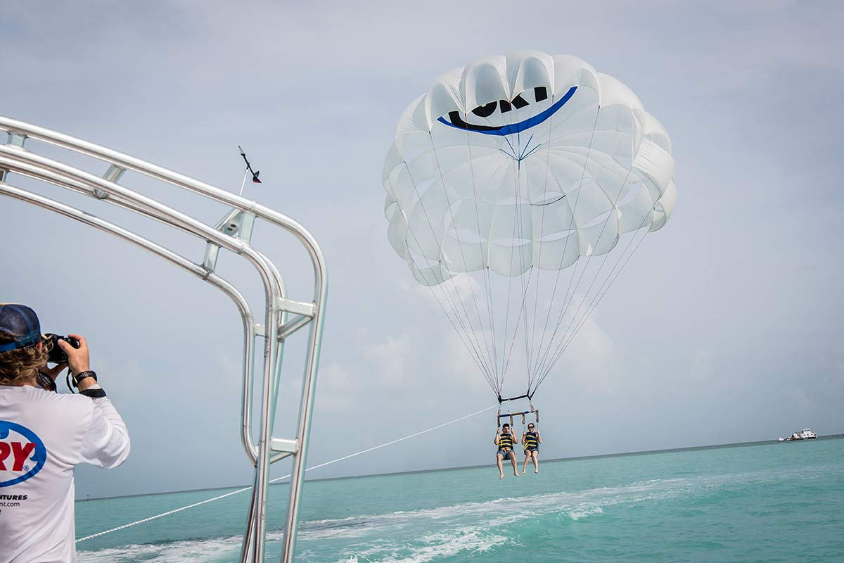 Parasailing Fury Water Adventures