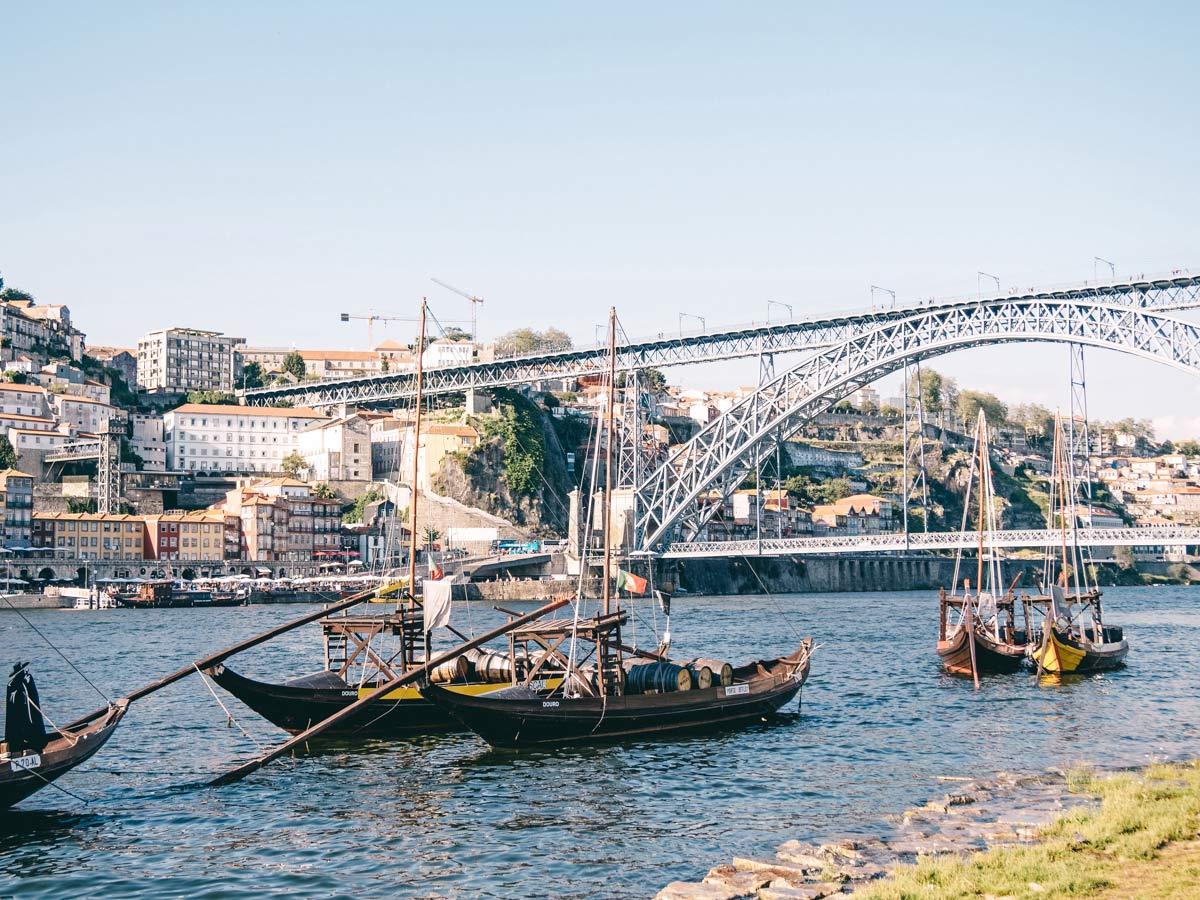 Portwein trinken in Porto