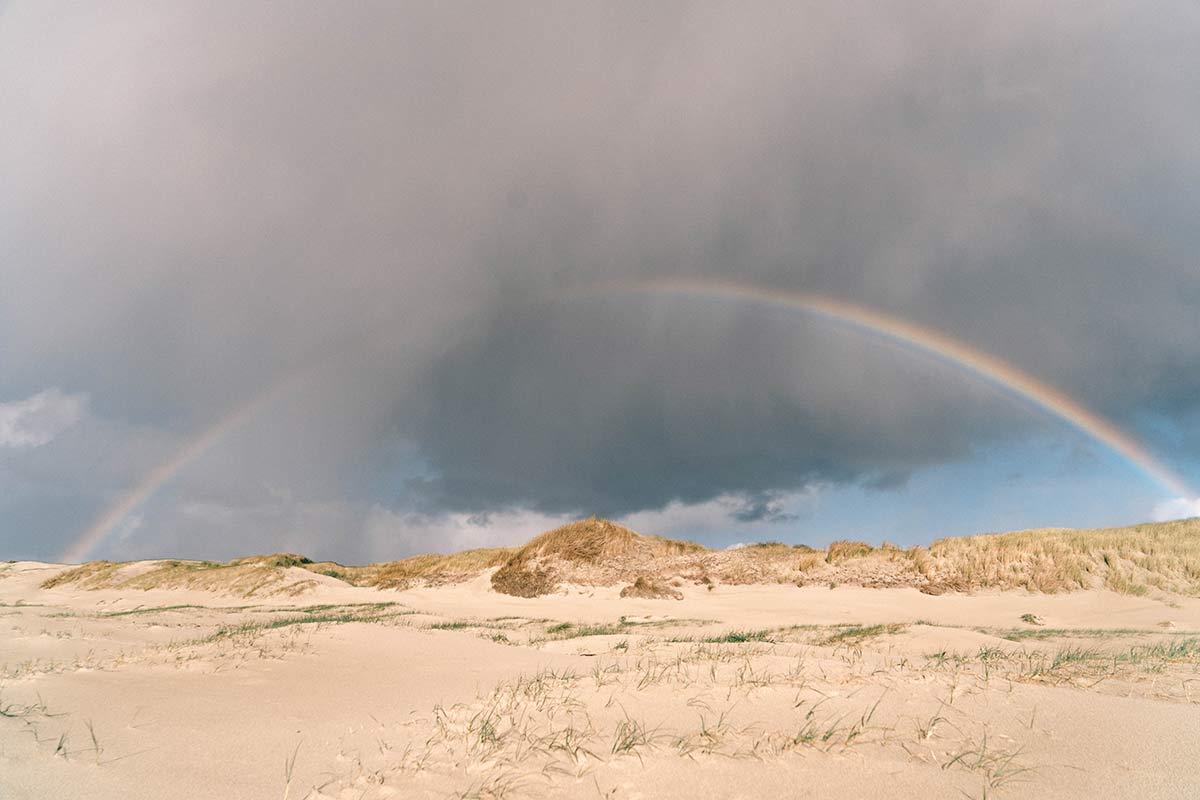 Regenbogen Nationalpark de Hors Texel