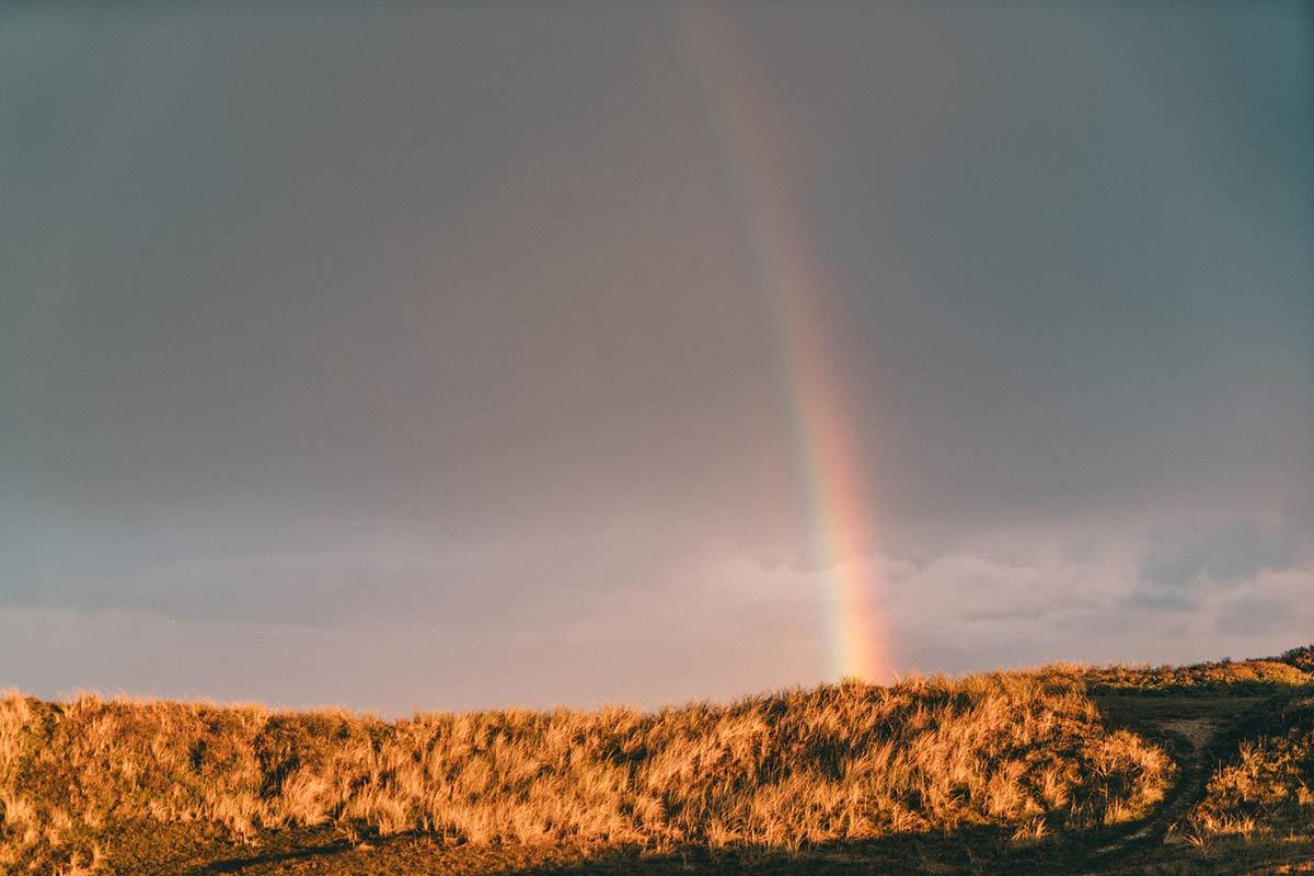 Regenbogen Texel Holland