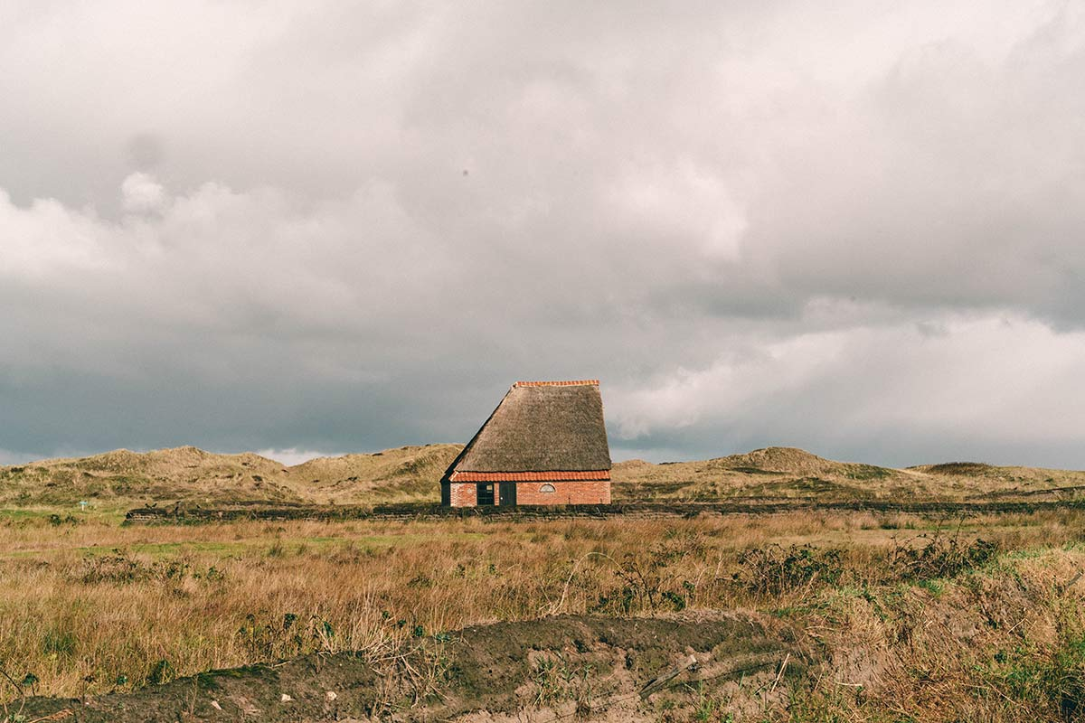 Schafsscheunen auf Texel