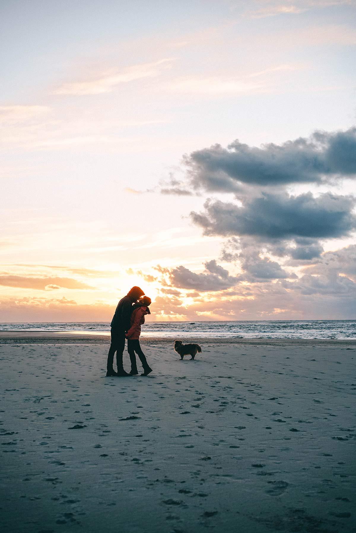 Sonnenuntergang Texel