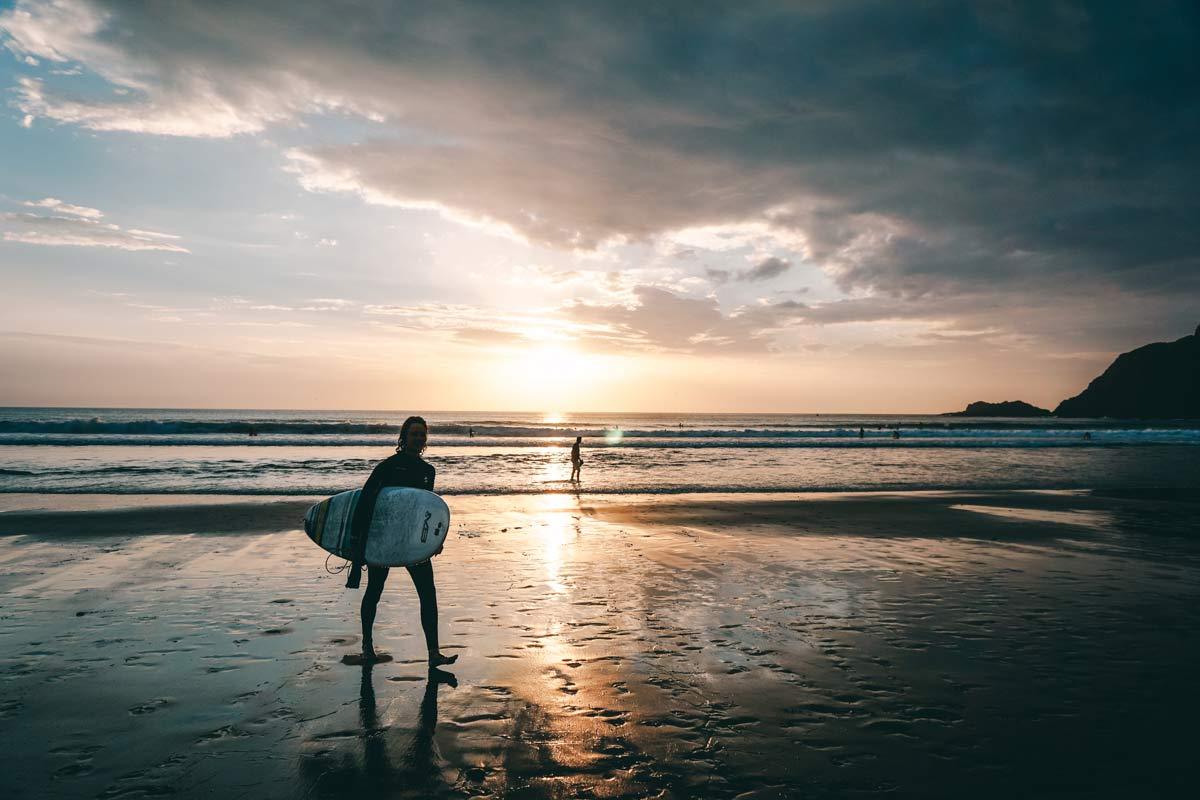Surfen gehen in Portugal