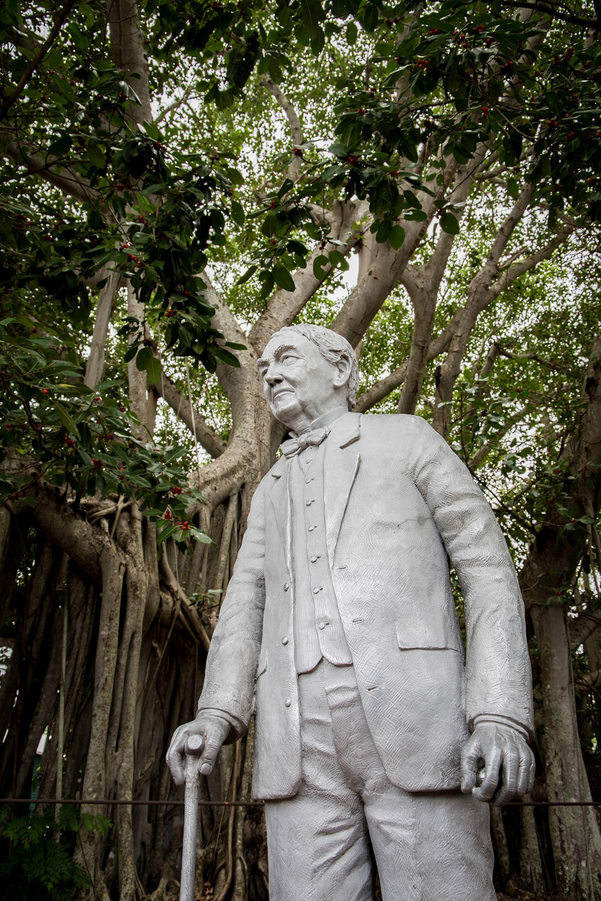 Thomas Edison Statue in Fort Myers