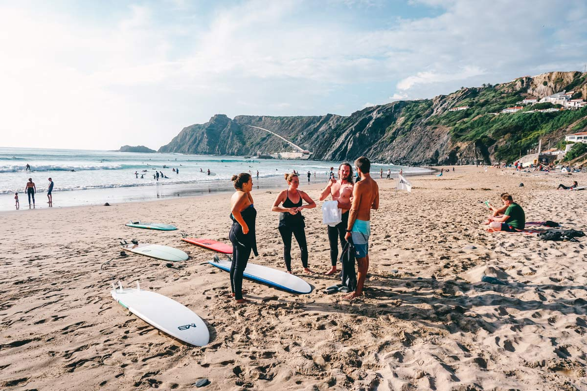 Tipps für Surfanfänger Portugal