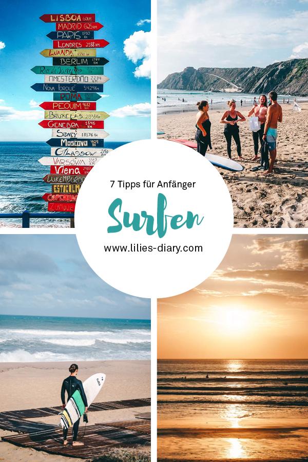 Tipps fuer Surfanfaenger