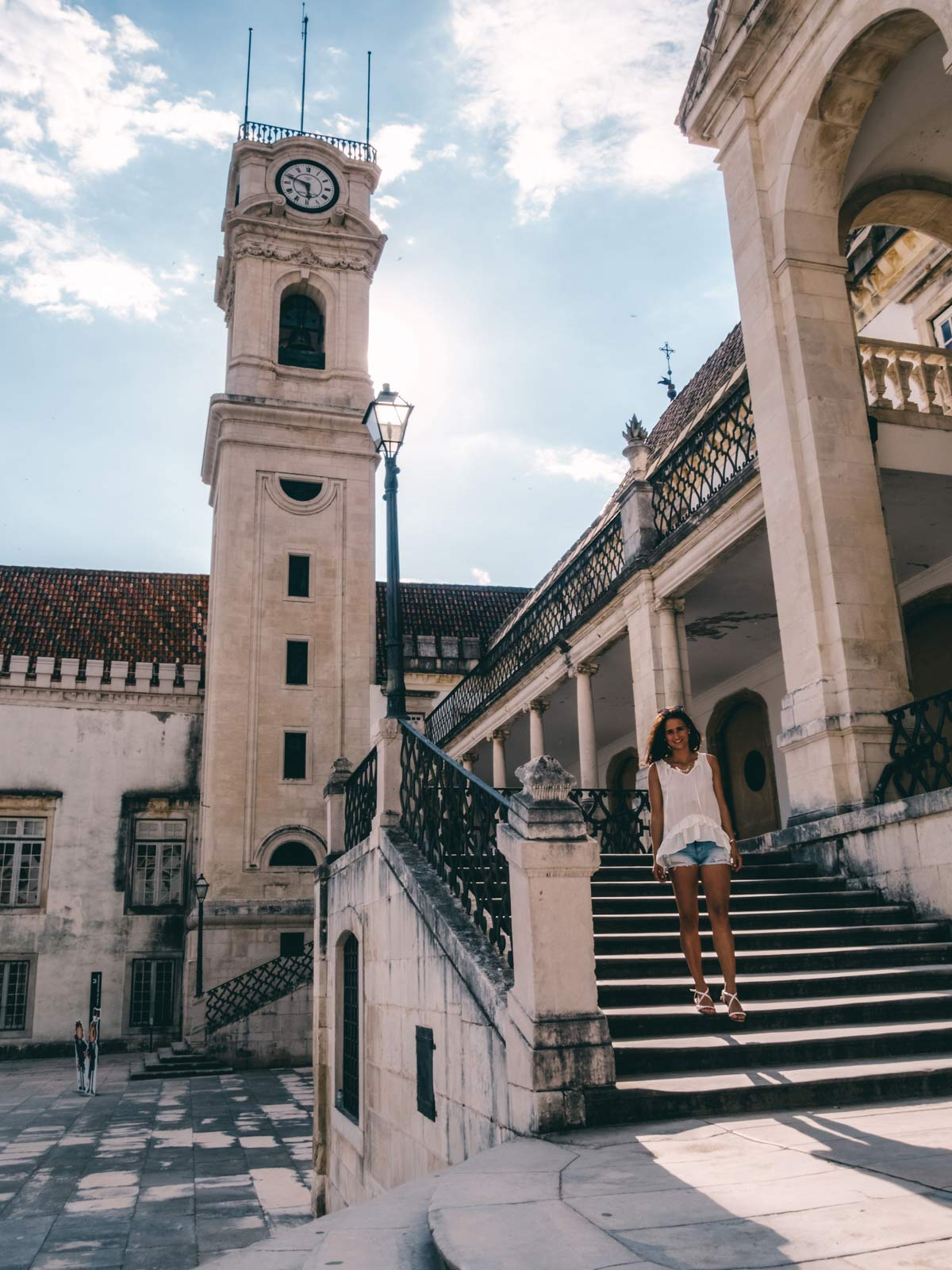 Uhrturm Coimbra