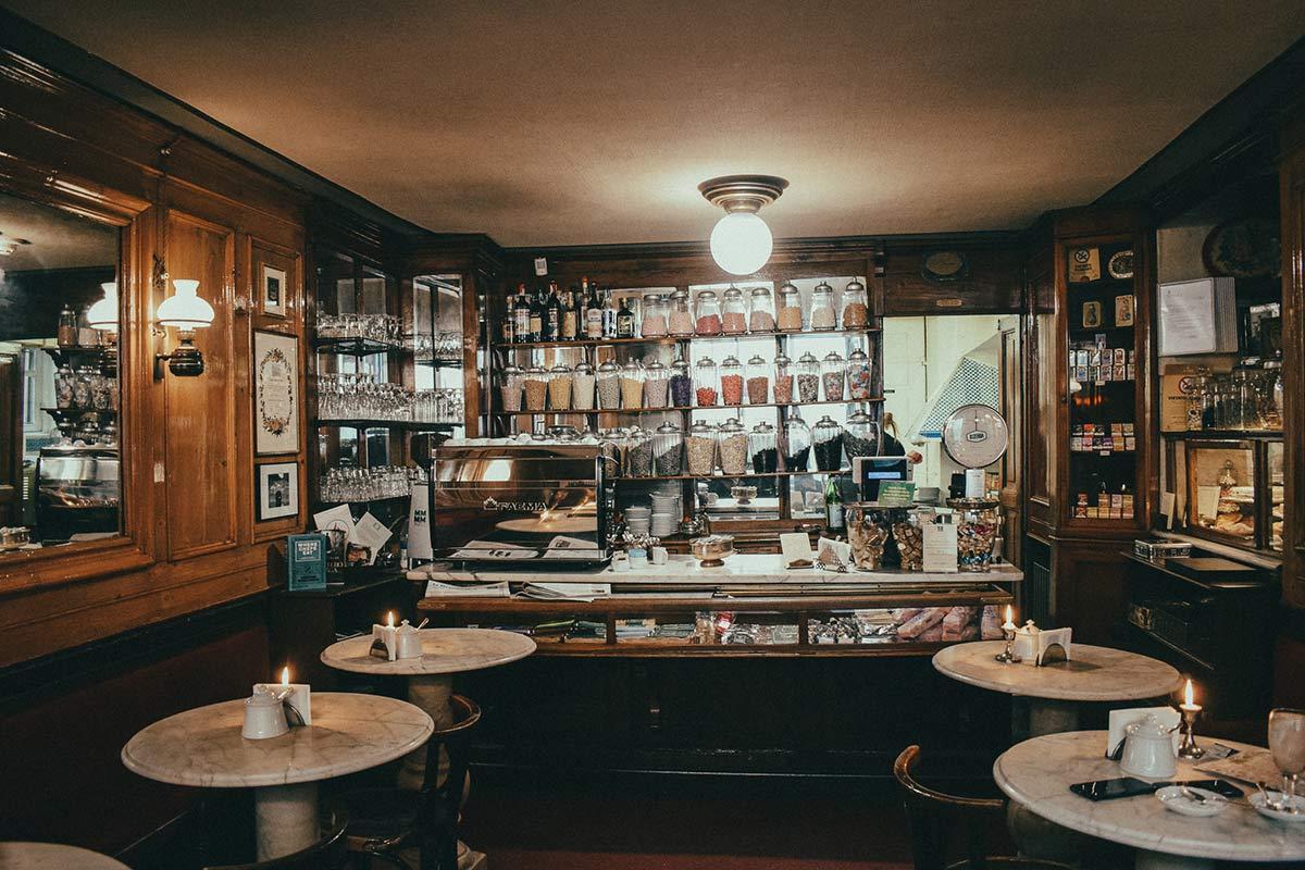 Caffe al Bicerin Turin