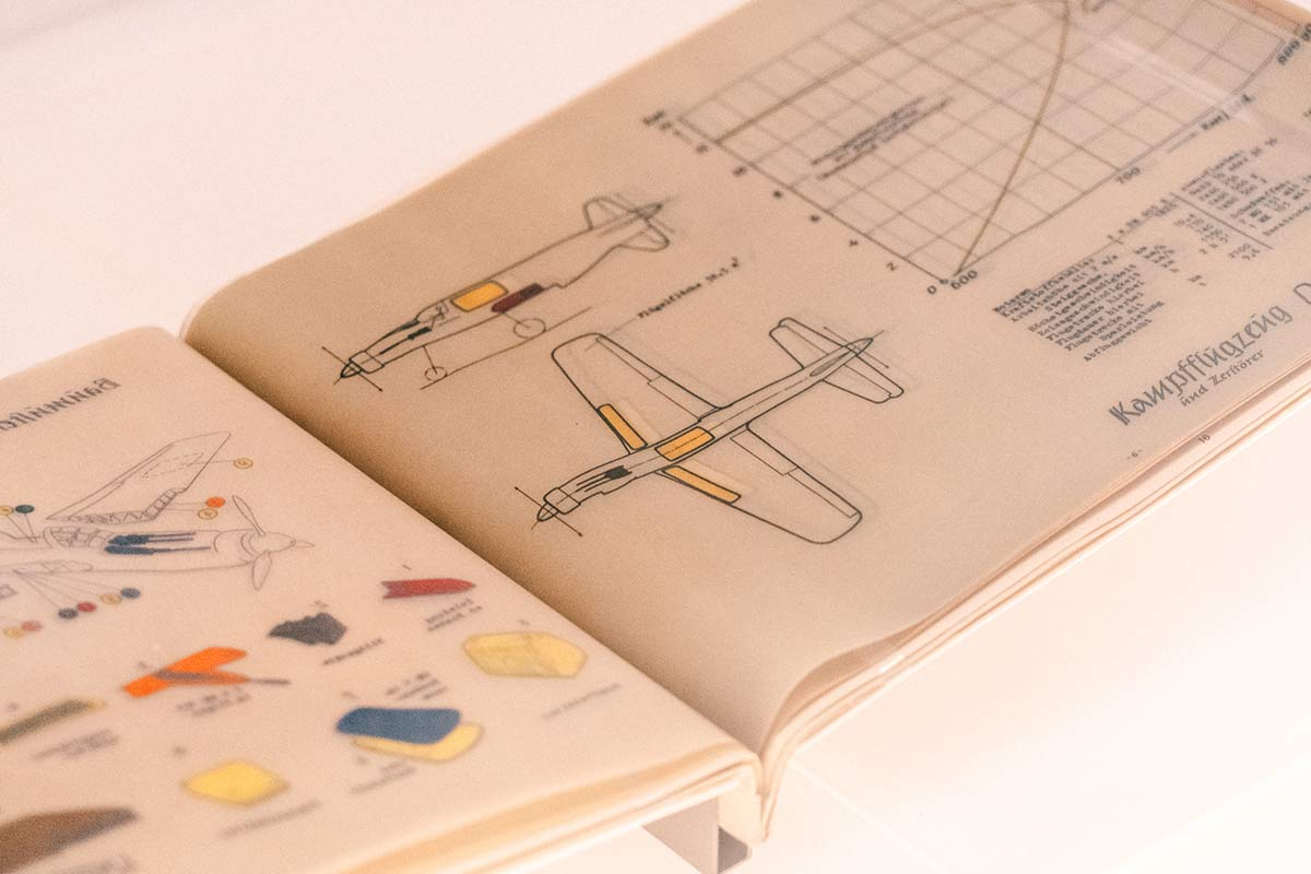 Dornier Museum Technische Zeichnung Flugzeug