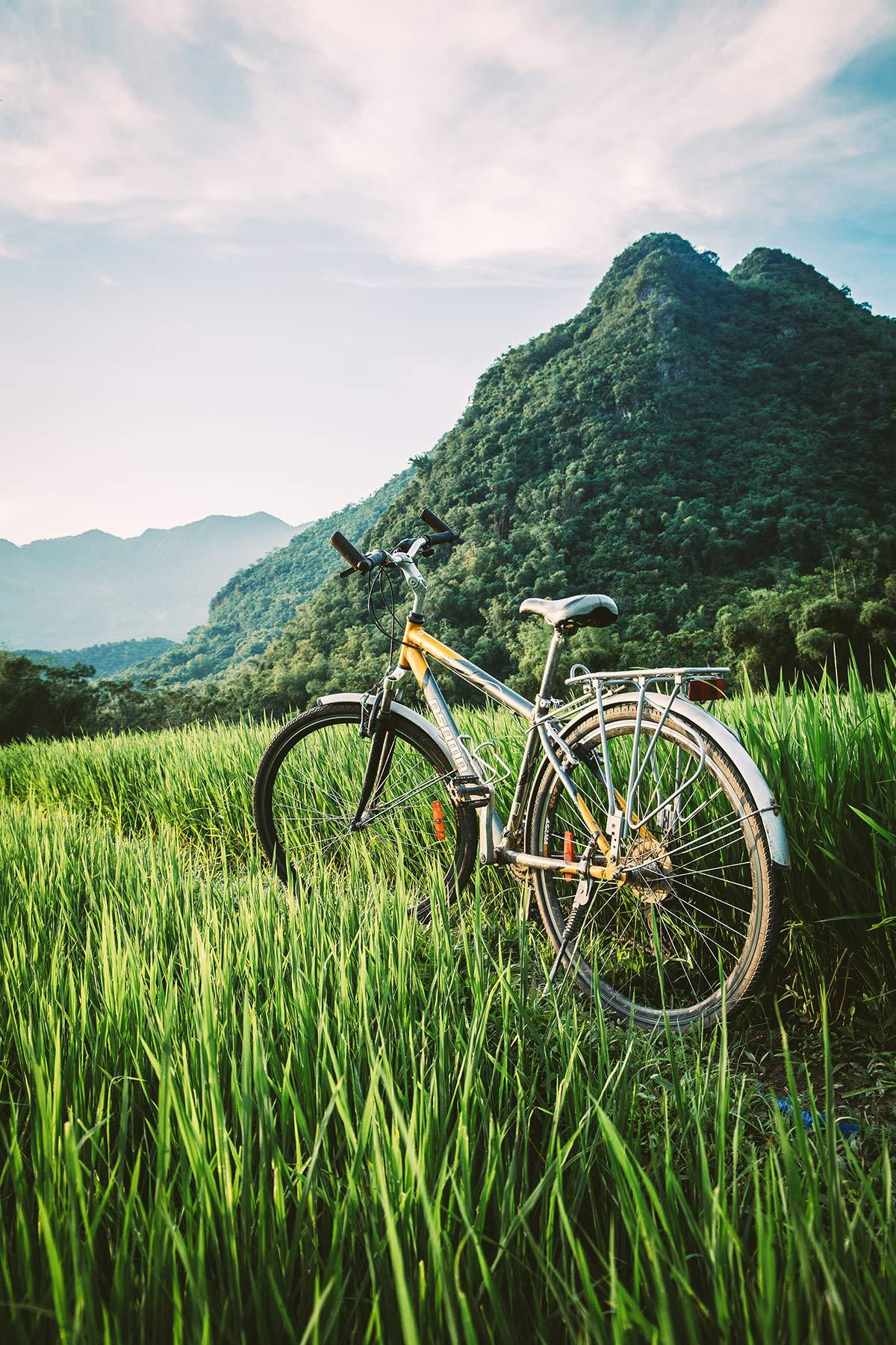 Fahrradtour durchs Mai Chau Tal