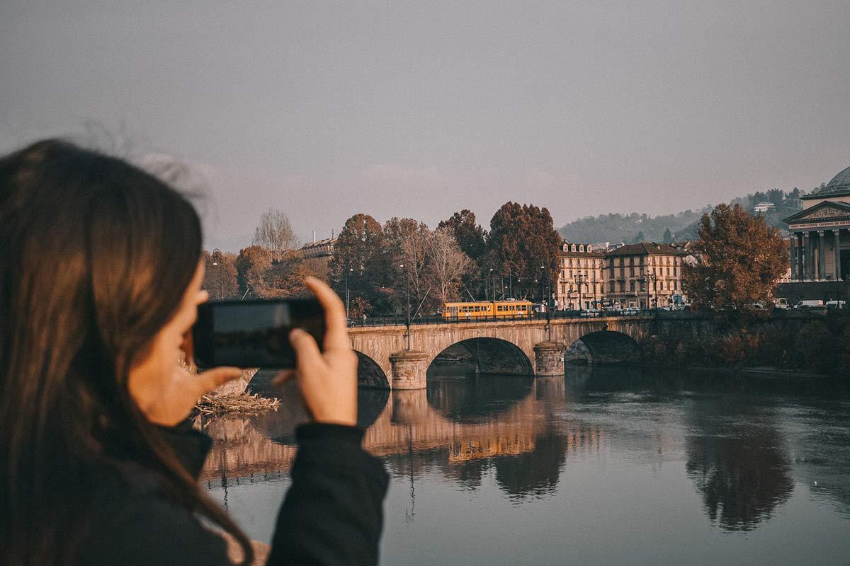 Mädchen Turin
