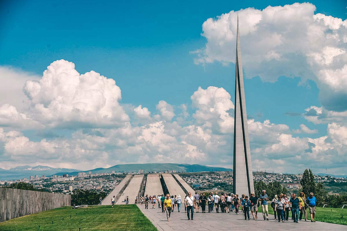 Genozid Denkmal Jerewan
