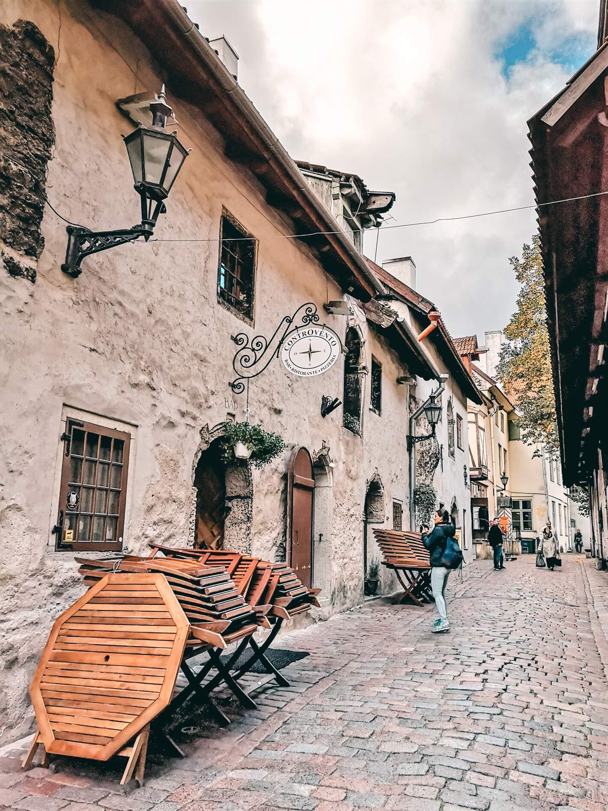 Katharinenpassage in Tallinn