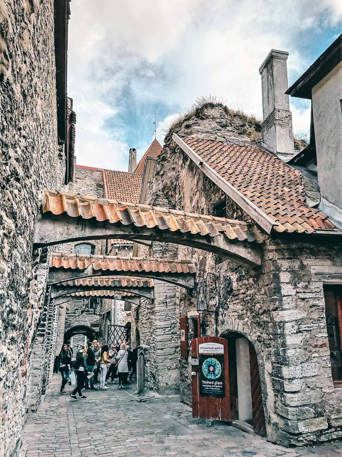 Katharinenpassage Tallinn