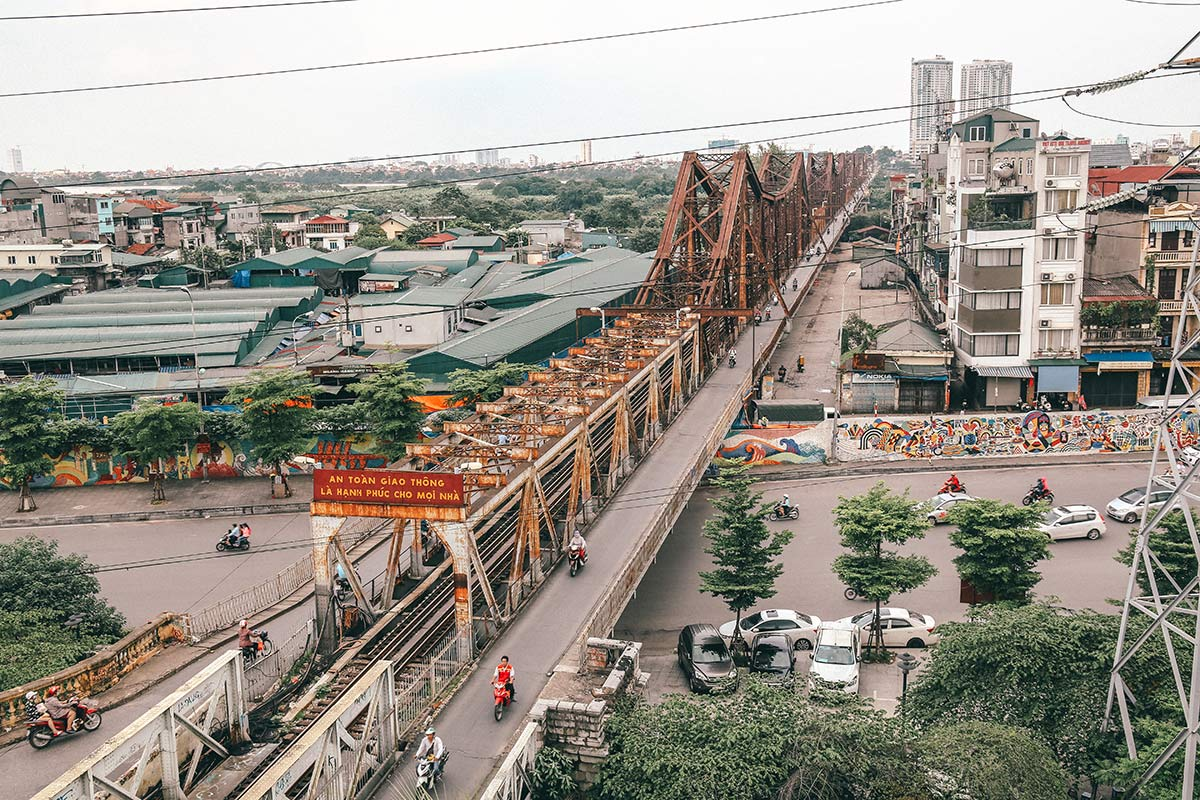 Long Bien Bruecke Hanoi