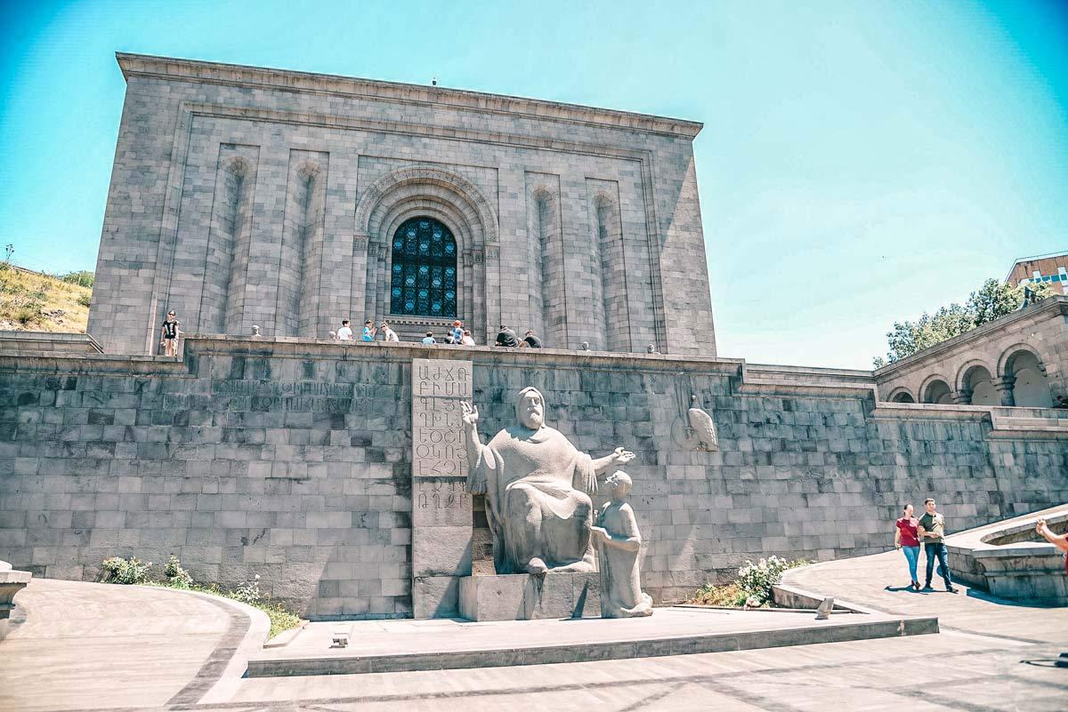Matenadaran in Jerewan