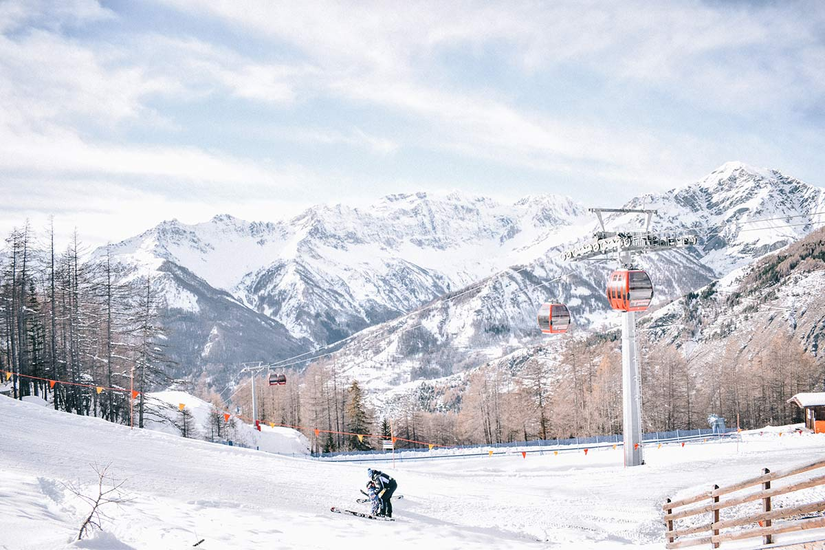 Skifahren in Turin