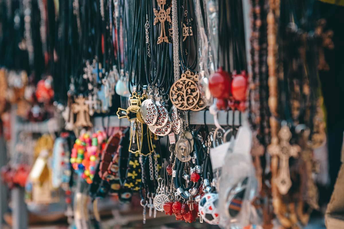 Souvenirs in Jerewan