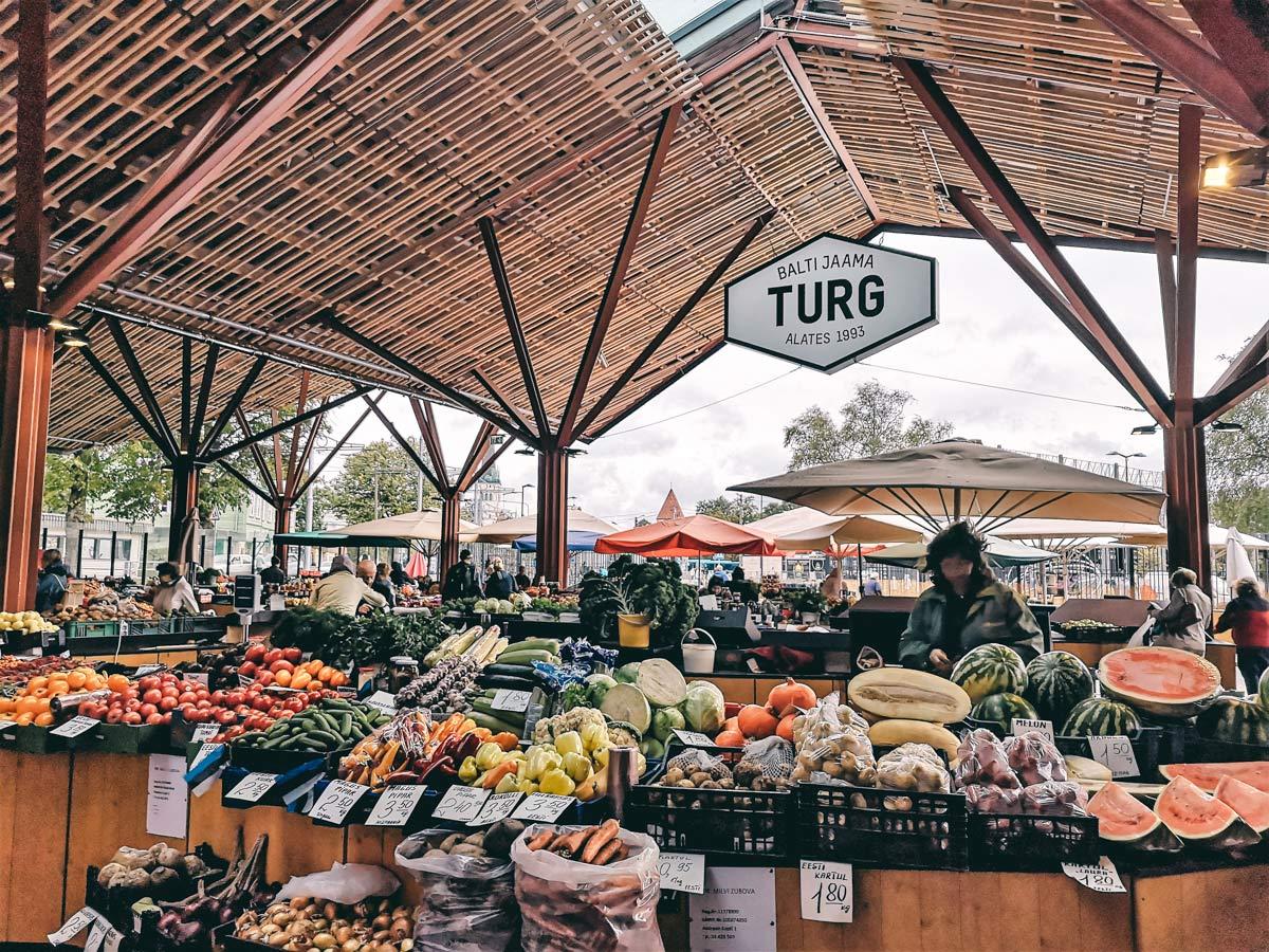 Tallinn Telliskivi Markthalle