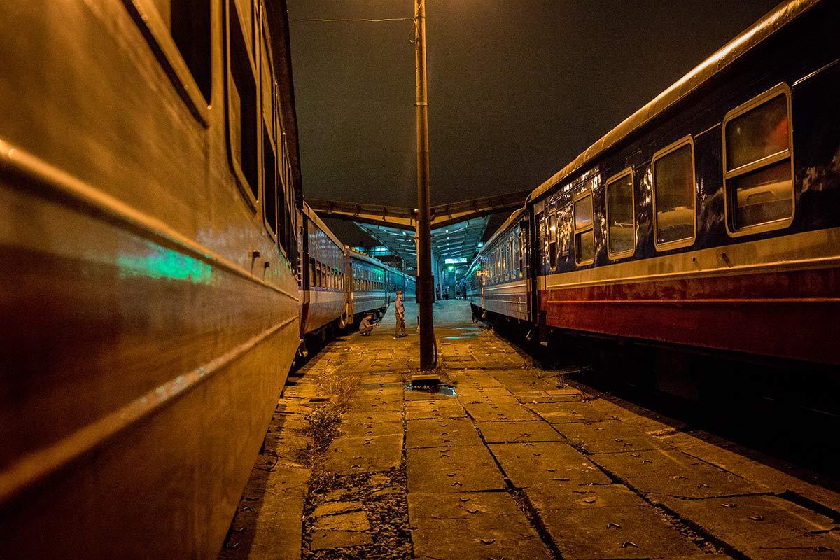 Victoria Express Zug nach Sapa