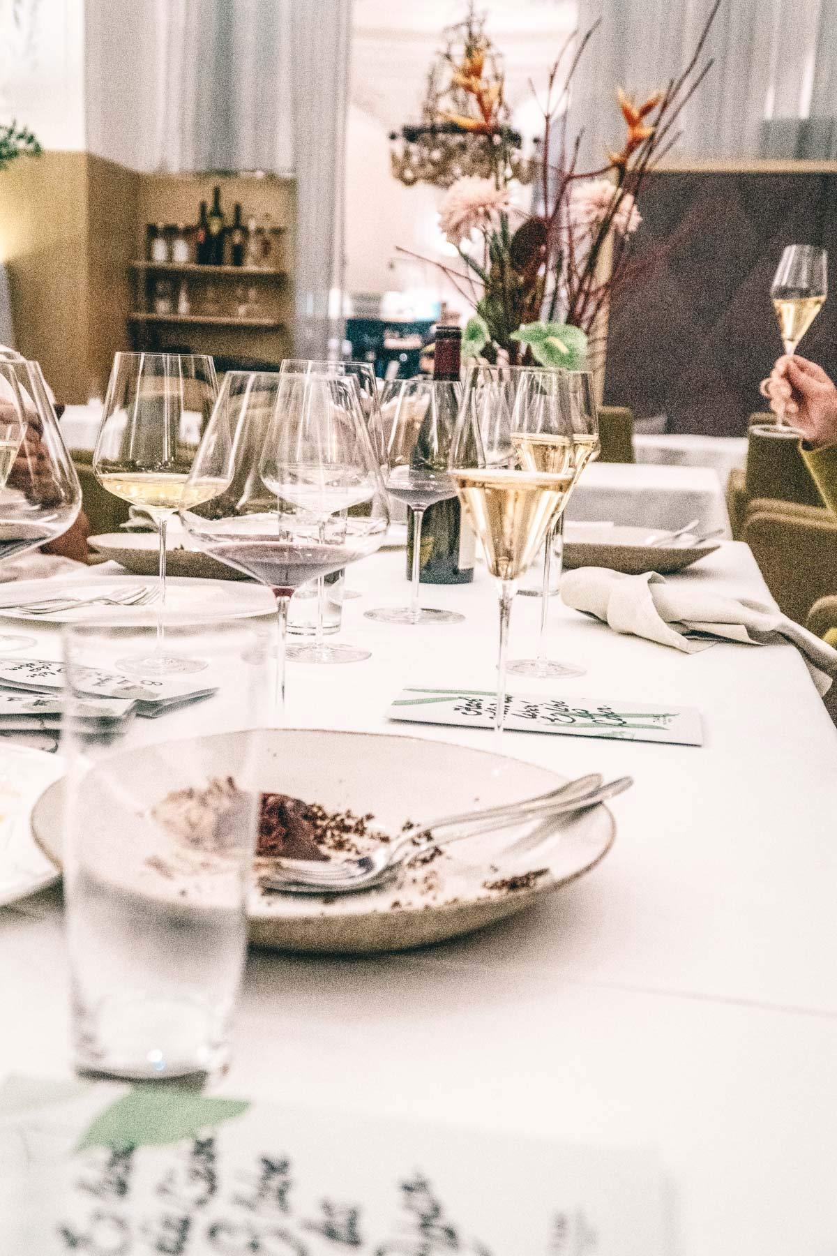 Abendessen im Tian Wien