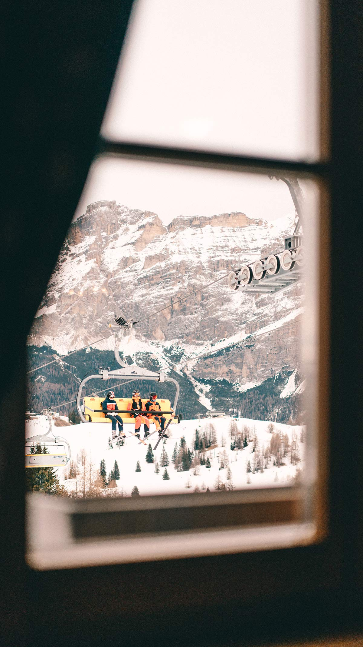 Alta Badia Ausblick Huette