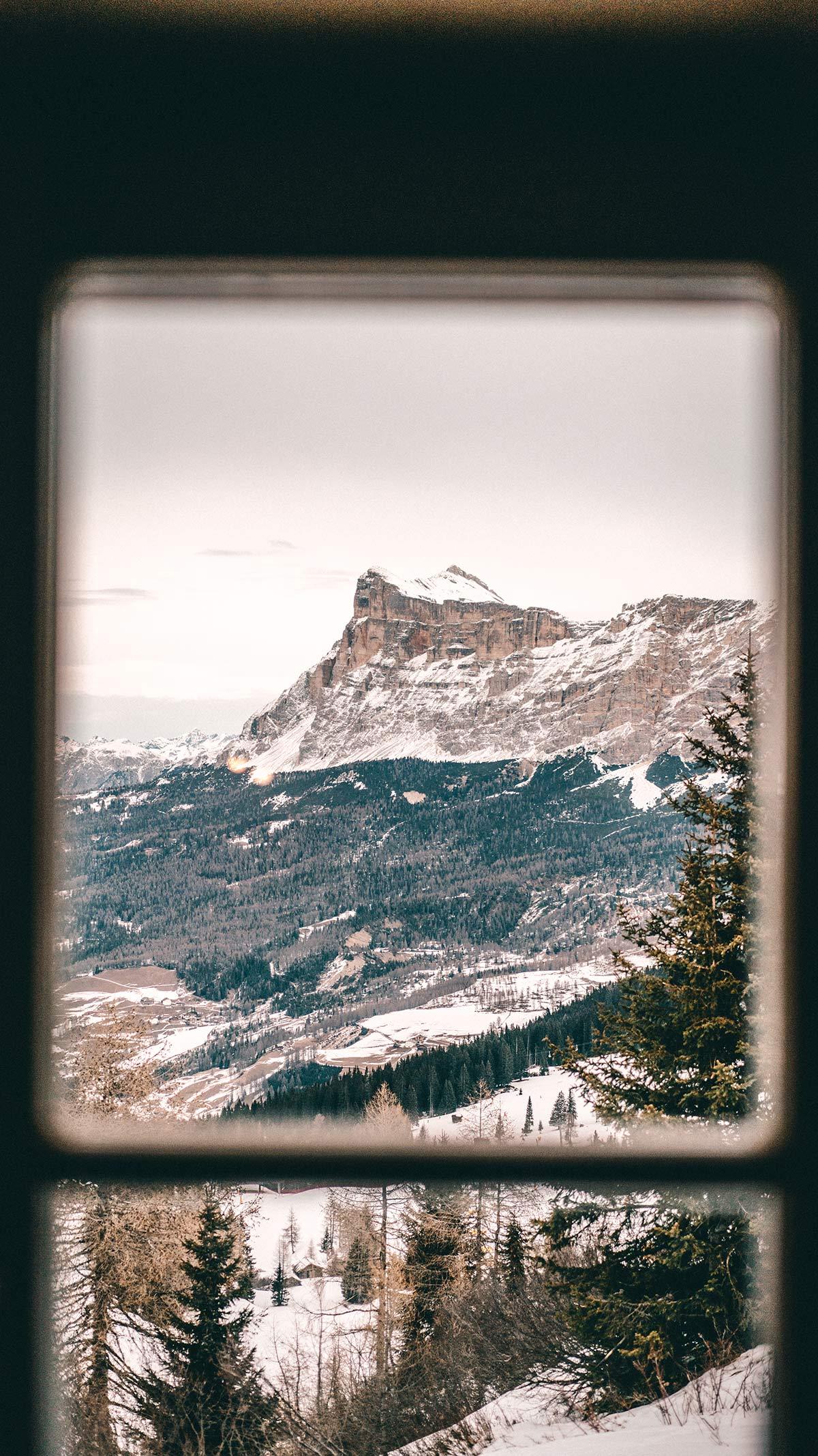Alta Badia Skigebiet Aublick Huette
