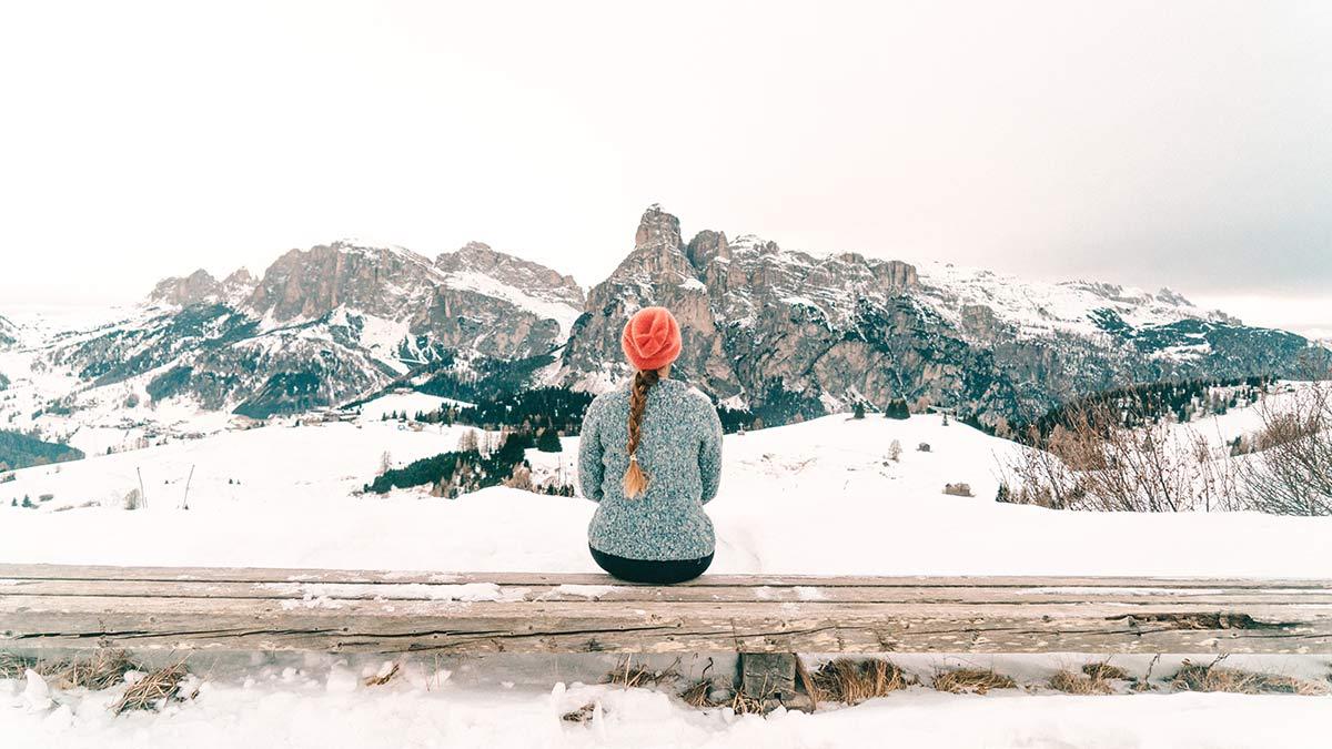 Alta Badia Skigebiet Dolomiten Christine