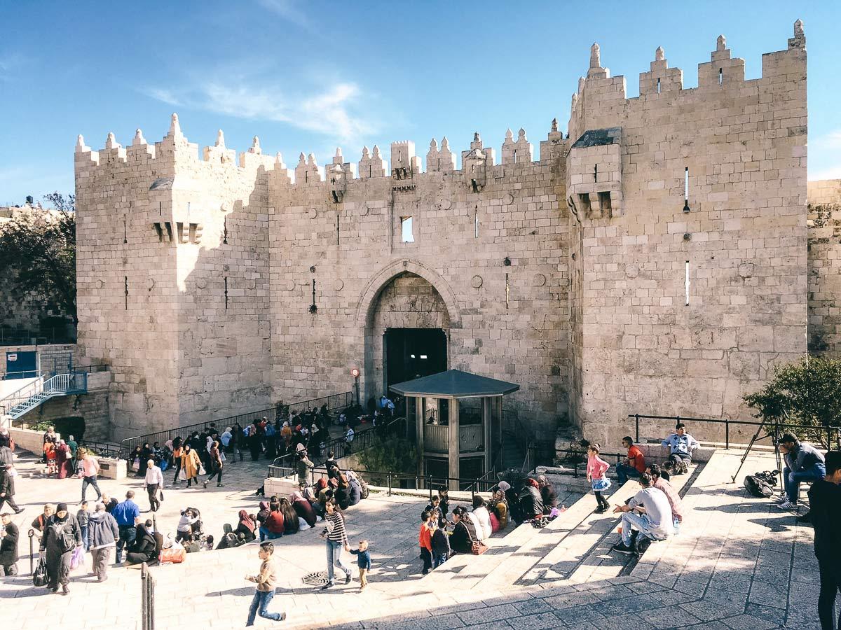 Ausflug nach Jerusalem