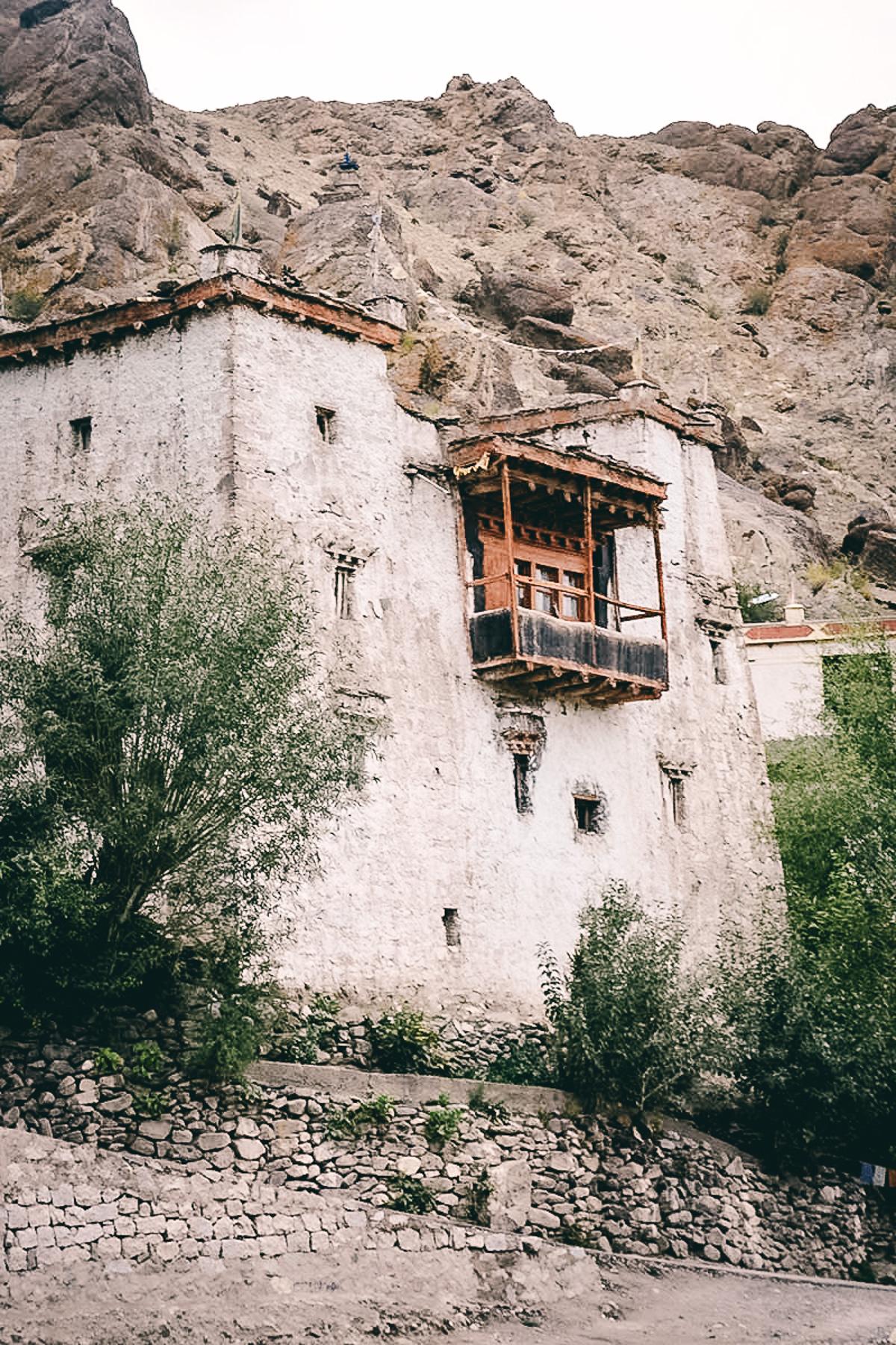balkon im kloster spituk