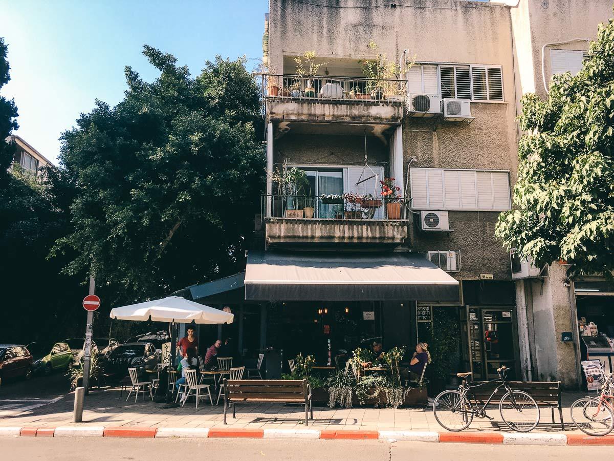 Cafes in Tel Aviv