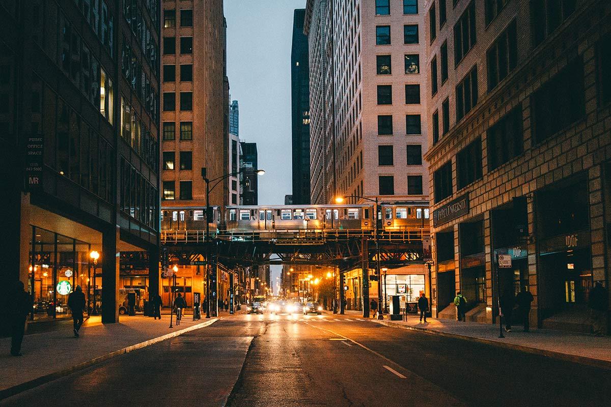 Chicago Bahnlinie
