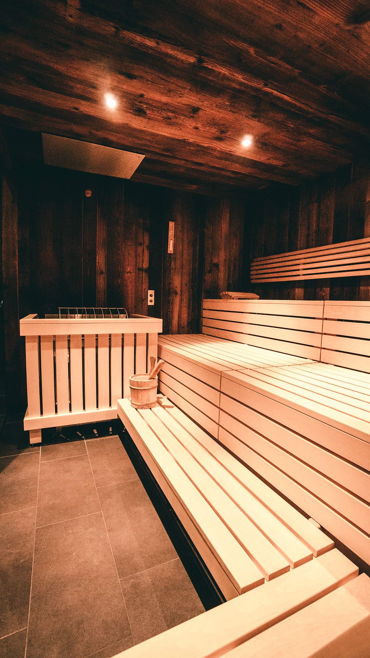 Das Hotel Marent Sauna