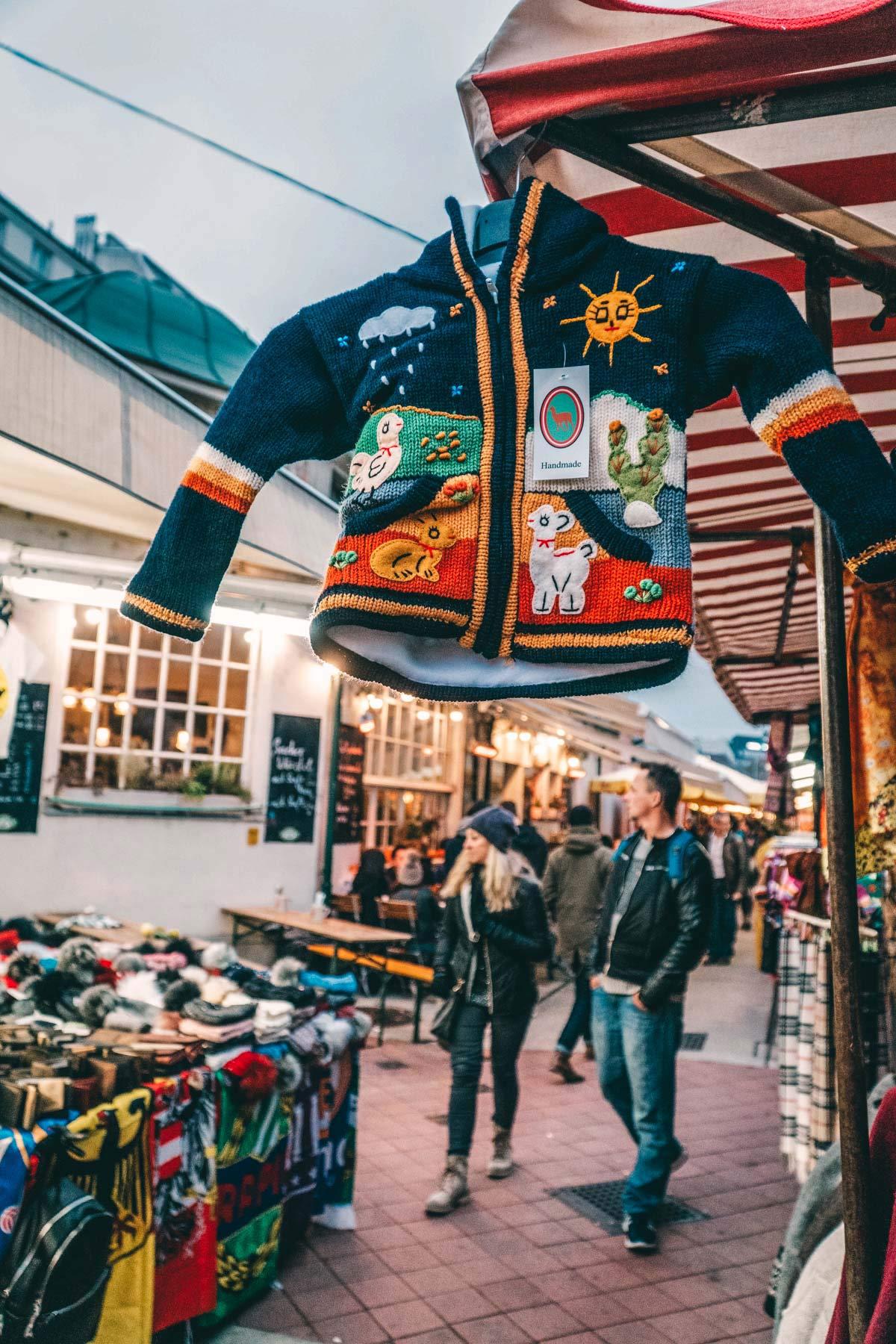Flohmarkt Wien abends