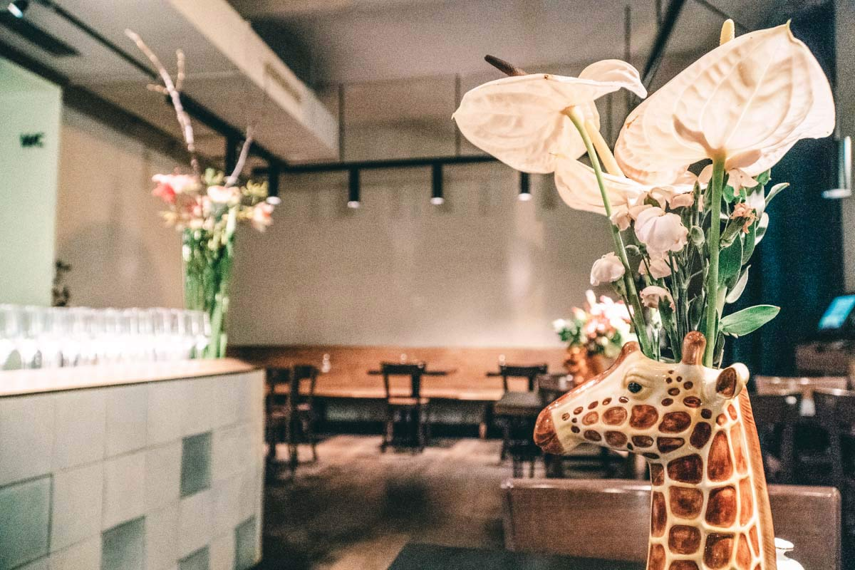 Giraffenvase Wien